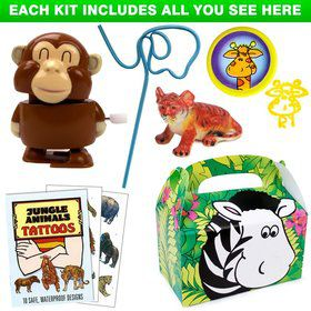Jungle Party Deluxe Favor Kit (for 1 Guest)