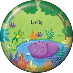 Jungle Party Personalized Button (each)