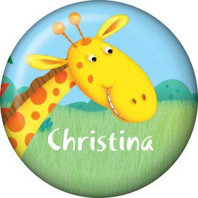 Jungle Party Personalized Mini Magnet (Each)