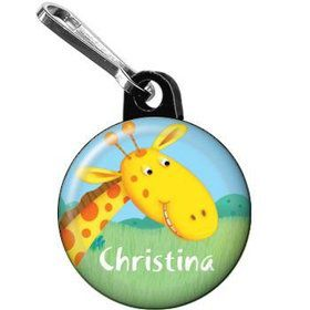 Jungle Party Personalized Mini Zipper Pull (each)