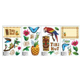 Jungle Party Small Wall Decals