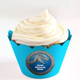 Jurassic Personalized Cupcake Wrappers (Set of 24)