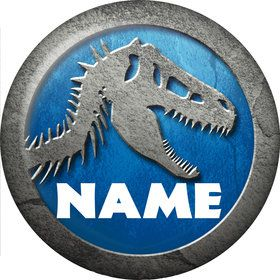 Jurassic Personalized Mini Magnet (Each)