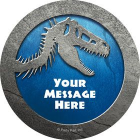 Jurassic Personalized Mini Stickers (Sheet of 20)