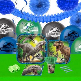 Jurassic World 16 Guest Tableware Decoration Kit
