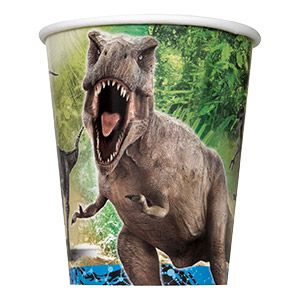 Jurassic World 9oz Cups (8 Pack) - Party Supplies BB48326