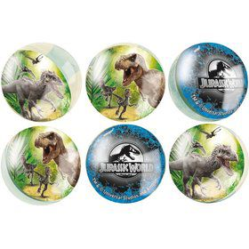 Jurassic World Bounce Balls (6 Pack)
