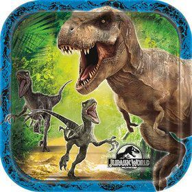 Jurassic World Dessert Plates (8 Pack)