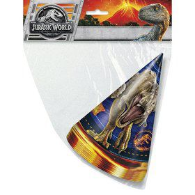 Jurassic World: Fallen Kingdom Party Hats (8)