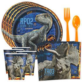 Jurassic World: Fallen Kingdom Standard Tableware Kit (Serves 8)