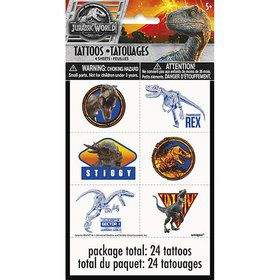 Jurassic World: Fallen Kingdom Tattoos (4)