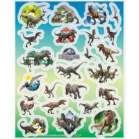 Jurassic World Stickers (4 Sheets)