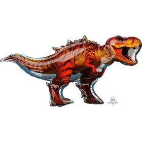 Jurassic World T-Rex Jumbo 45 Shaped Foil Balloon