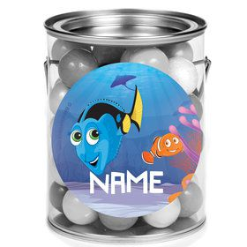 Just Keep Swimming Personalized Mini Paint Cans (12 Count)