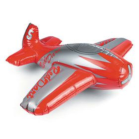 Inflatable Red Dart Airplane (Each)