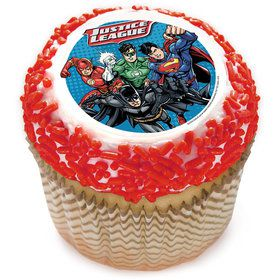 "Justice League 2"" Edible Cupcake Topper (12 Images)"