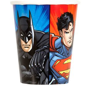 Justice League 9oz Cups (8 Count)