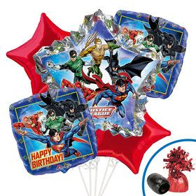 Justice League Balloon Bouquet Kit