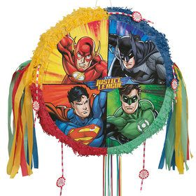 Justice League Drum Pinata