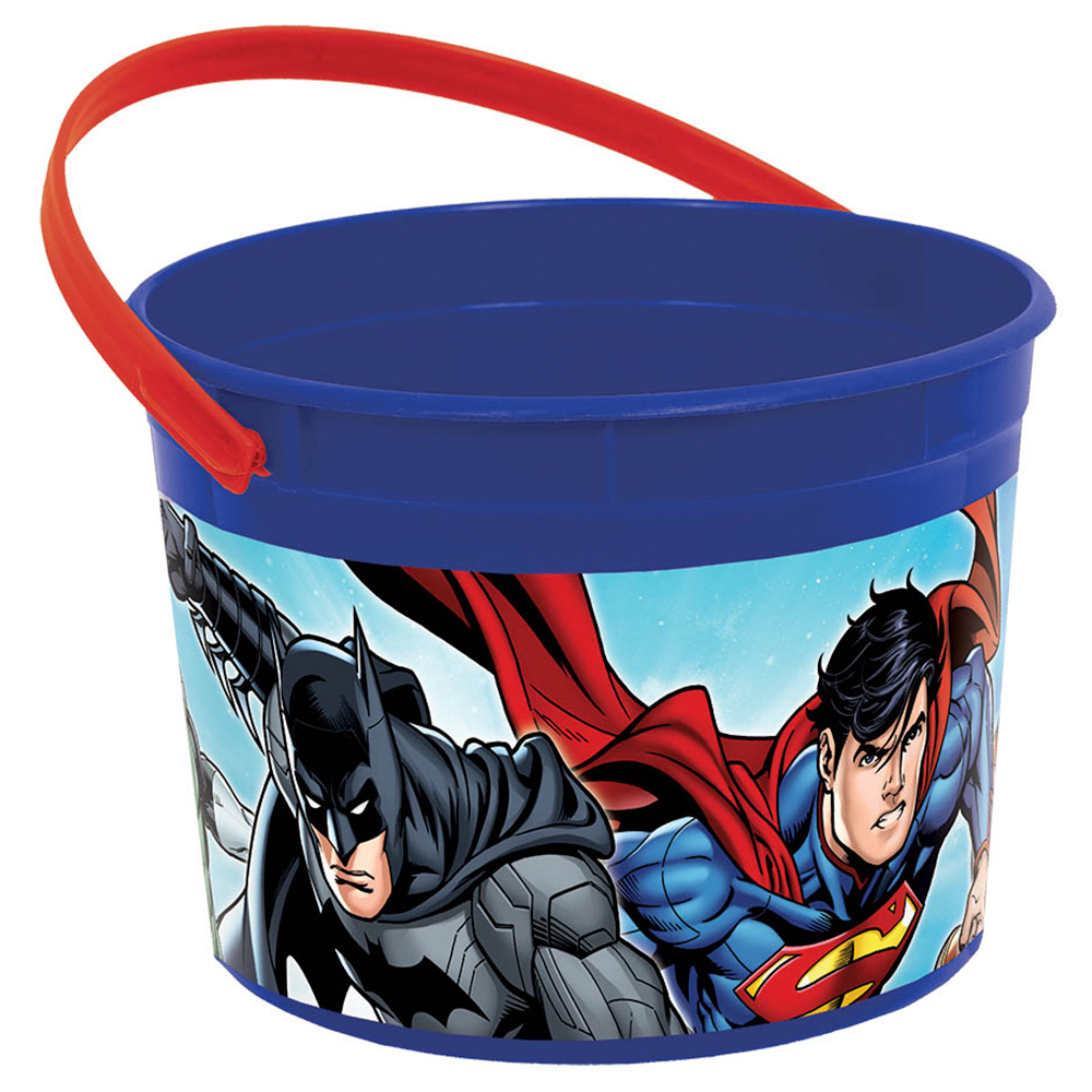 Justice League Favor Container (Each) - Party Supplies BB261585