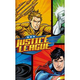 Justice League Plastic Table Cover