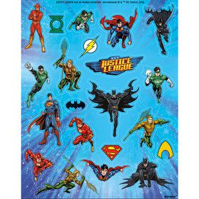 Justice League Stickers (4 Sheets)