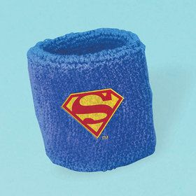 Justice League Sweat Band Favors (4 Count)