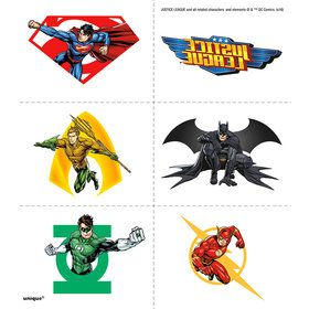Justice League Tattoos (4 Sheets)