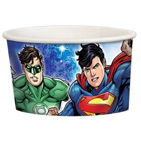 Justice League Treat Cups (8 Count)