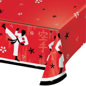 Karate Paper Table Cover