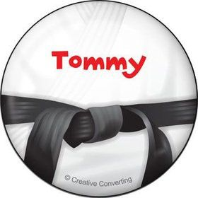 Karate Personalized Button (each)