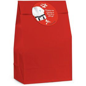 Karate Personalized Favor Bag (Set Of 12)