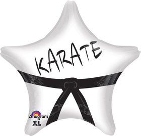 "Karate Star 19"" Foil Balloon"