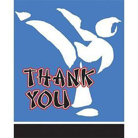 Karate Thank You Notes (8-pack)