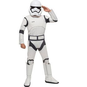 Kids Deluxe Star Wars Episode VII Stormtrooper Costume