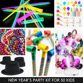Kid's New Years Kit (For 50 Guests)
