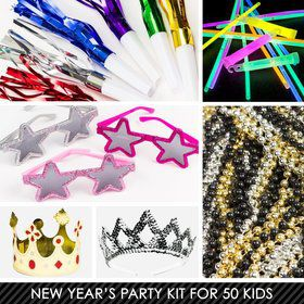 Kid's Royalty New Years Kit (For 50 Guests)