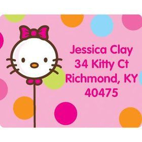 Kitty Personalized Address Labels (sheet of 15)