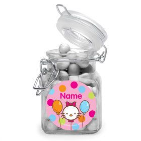 Kitty Personalized Glass Apothecary Jars (10 Count)