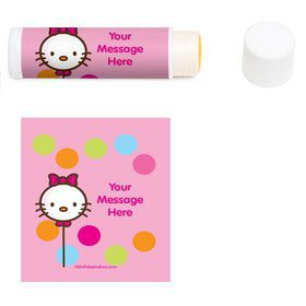 Kitty Personalized Lip Balm (12 Pack)