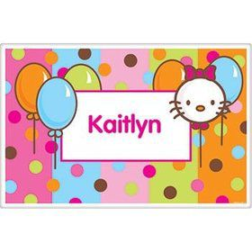 Kitty Personalized Placemat (each)