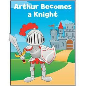 Knight Personalized Coloring Book (each)