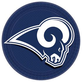 "LA Rams 9"" Lunch Plate (8)"