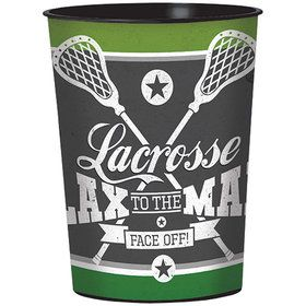 Lacrosse 16oz Plastic Favor Cup (Each)