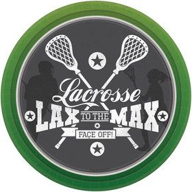 "Lacrosse 7"" Cake Plate (8 Count)"