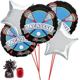 Lacrosse Balloon Bouquet Kit