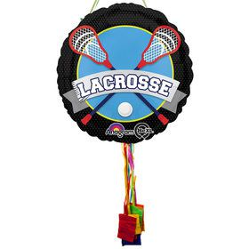 Lacrosse Pull String Pinata