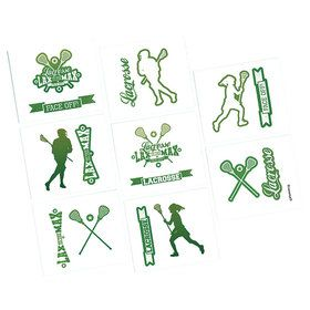 Lacrosse Tattoos (16 Count)