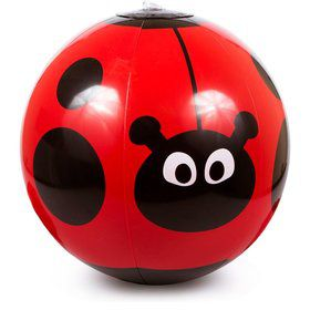 "Ladybug 11"" Beach Ball (Each)"