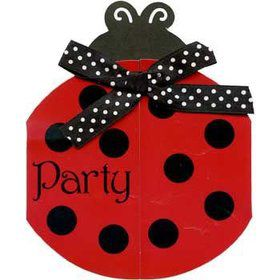 Ladybug Party Invitations (8-pack)